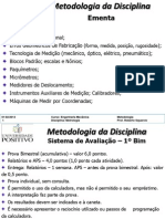 1-Aula 0-Metodologia Da Disciplina