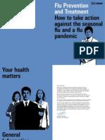 flu prevention brochure