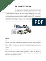 La Norma Internacional de Contabilidad 16 Propiedades