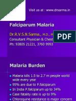 Falciparum Malaria by Dr Sarma