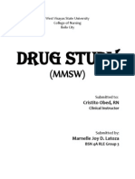 Drug Study (Medication Nurse)