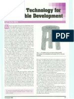 Concrete Technology for Sustainable Development