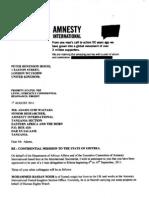 Amnesty Conspiracy Against Eritrea (Leak)