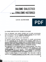 Materialismo Dialéctico y Materialismo Histórico Louis Althusser