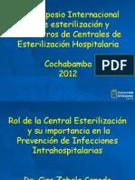 8-Rol Central Esterilización en Control IIH