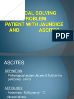 Patient With Jaundice and Ascites