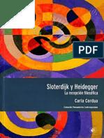 Cordua Carla - Sloterdijk Y Heidegger La Recepcion Filosofica