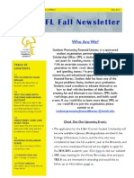 SPFL Fall Newsletter