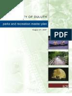 Parks Master Plan