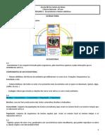 Resumo 2 Ecossistemas e Fatores Abioticos
