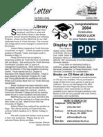 Summer 2004 Library Newsletter