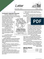 Summer 2005 Library Newsletter