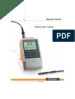 Feritscope Manual