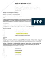 Evaluación Nacional 2013 - Epistemologia 130 De 200