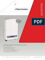 Se Single Phase Inverter Datasheet