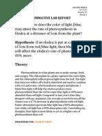 sumative lab report dox