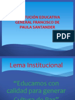 Induccion Institucion Educativa Francisco de Paula Santander
