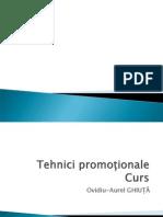 Curs Tehnici Promotionale