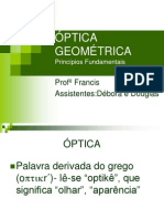 Óptica Geométrica - Fundamentos