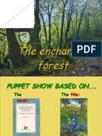 theater performance about the enchanted forest- plástica