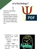 Introduction Cognitive Psychology