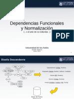 BD Clase 13 Dfs Normalizacion