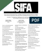 ASIFA Atlanta InternationalAnimationDay2013