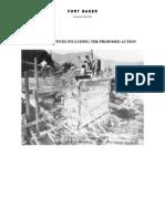 Fort Baker Environmental Impact Statement, Chap 2