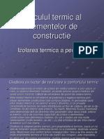 Calculul Termic Al Elementelor de Constructie
