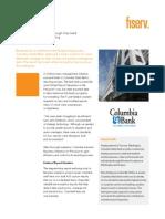 Business Analytics - Columbia State Bank