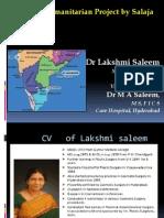 Hosting Humanitarian Project - Salaja Hospital by Dr Lakshmi Saleem