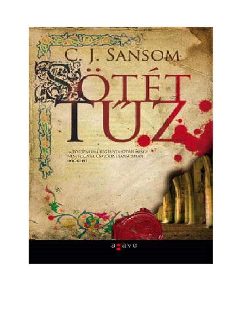C. J. Sansom - Sotet Tuz 0ac334ea2a