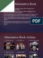 Genre of Alternative Rock
