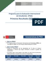 Principales Resultados PISA
