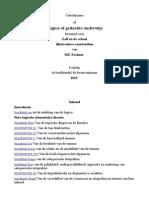 Catechismus of Logica of Gedachte Onderwijs-dutch- Gustav Theodor Fechner