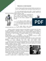 Mecatronica Si Roboti Industriali