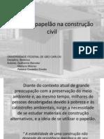 O uso do papelão na construção civil1