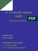 01 Funkcije i Gradja Koze 2012