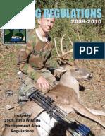 2009-2010 Hunting Regulations