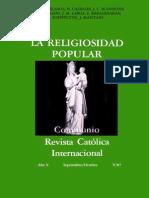 Scannone Religiosidad popular sabiduría del pueblo y teología