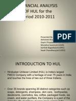 121773802 HUL Financial Analysis