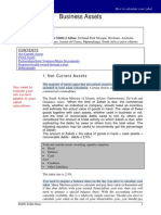 6. Business Assets