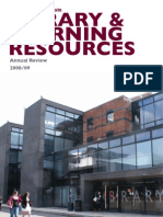 University of Lincoln - Library & Learning Resources - Annual Review 2008/09