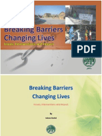 Breaking Barriers & Changing Lives by Salman Rasheed