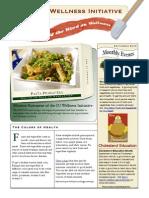 September 2009 Wellness Newsletter