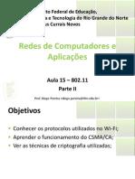 Aula15 - Wi-Fi-802.11