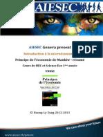 AIESEC Intro Micro -  Principes de l'économie Mankiw - résumé