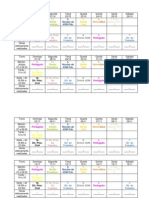 Agenda - Planejamento de Estudos Para o Concurso de Analista TRT 15 Prova 15.12.2013 (1)