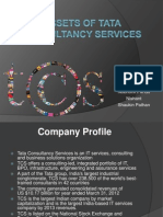 Assets of Tata Consultancy Services