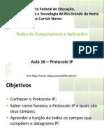 Aula16 - Protocolo IP